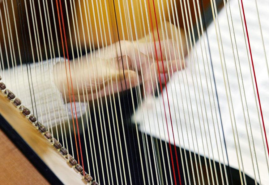 Corso Musica Antica Arpa Movimento Semplice