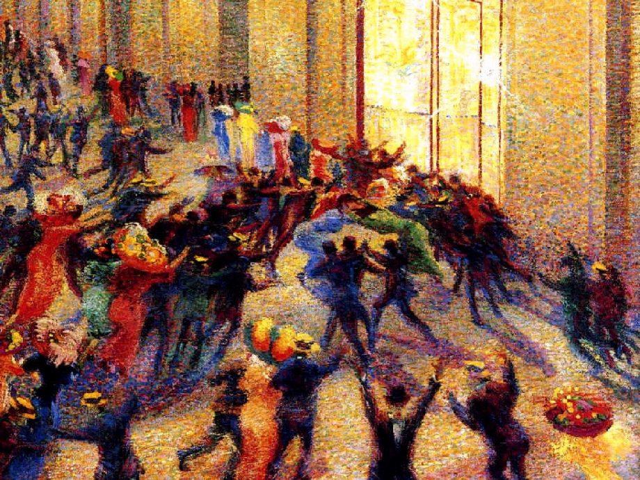 Rissa In Galleria Boccioni 1909