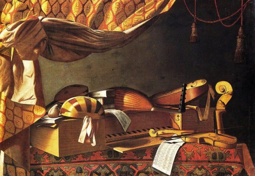 Baschenis Strumenti musicali 02 Seminario Ghielmi Seicento