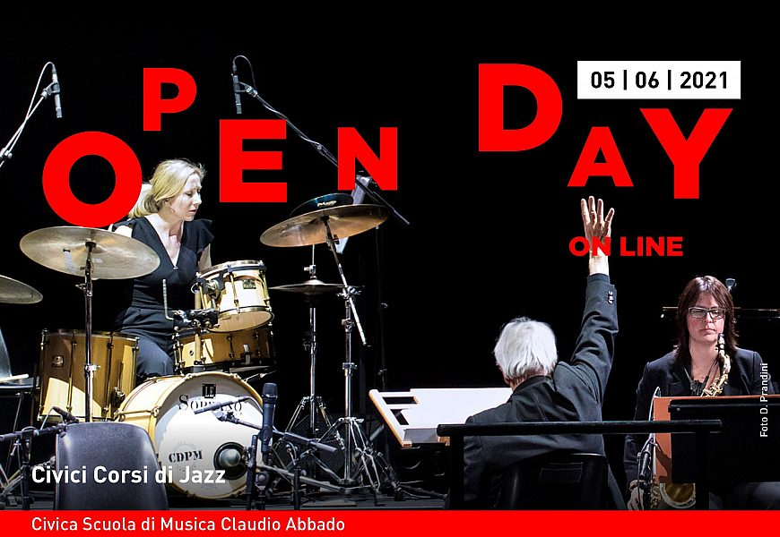 Open day 5 giugno Civici Corsi di Jazz banner