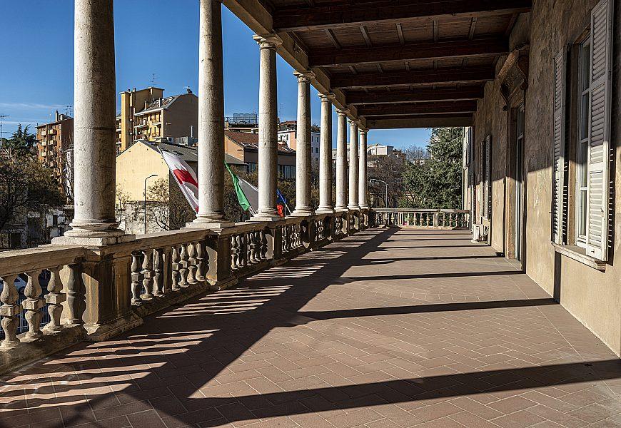 Villa Simonetta loggiato 1 piano Milano 260121 01