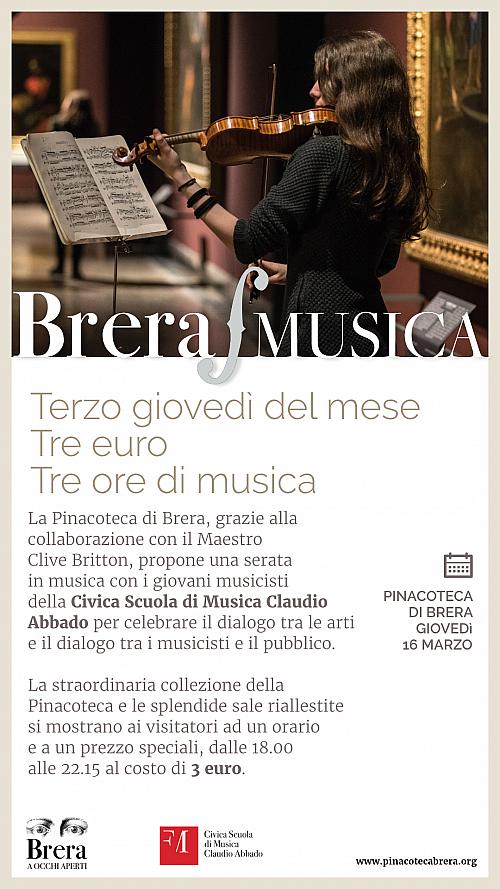 Brera Musica 16 Marzo 2017