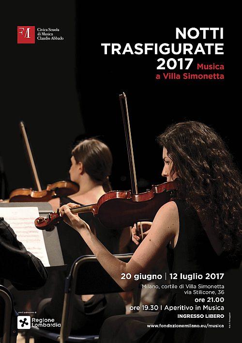 Locandina Notti Trasfigurate 2017