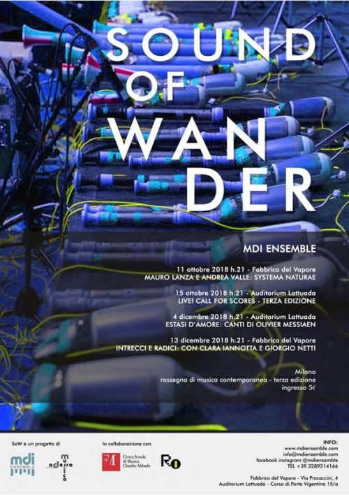 Sound Of Wander 2018