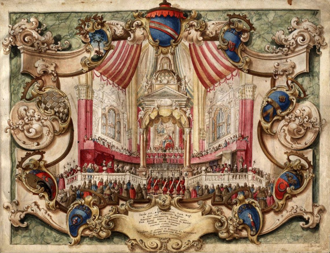 Festa Di San Petronio 1722 Cornetto E Dintorni