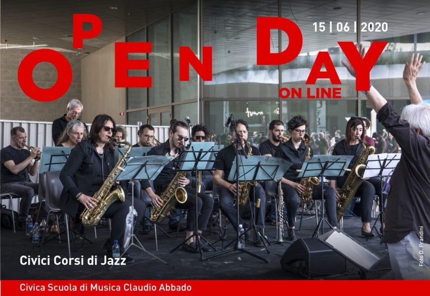 Banner Open Day 15 Giugno Civici Corsi Di Jazz