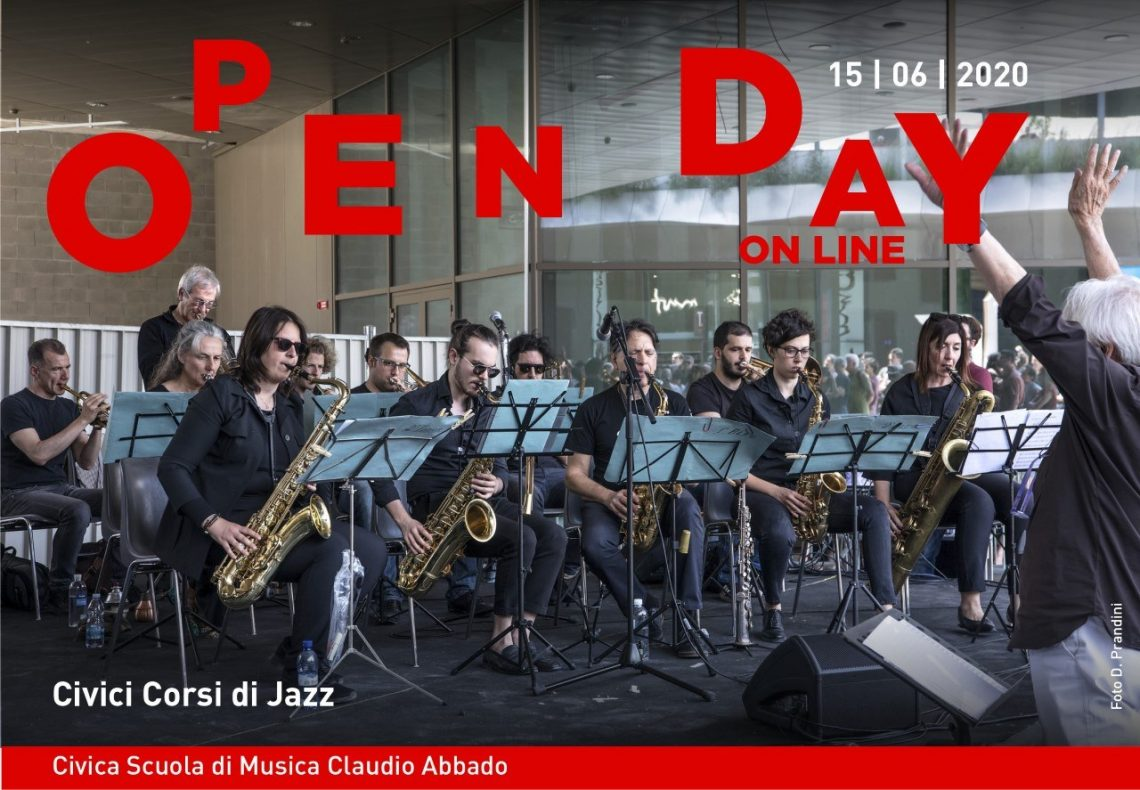 Banner Open Day 15 Giugno Civici Corsi Di Jazz