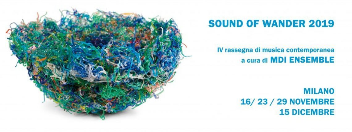 Sound Of Wander 2019 Dal 16 Novembre
