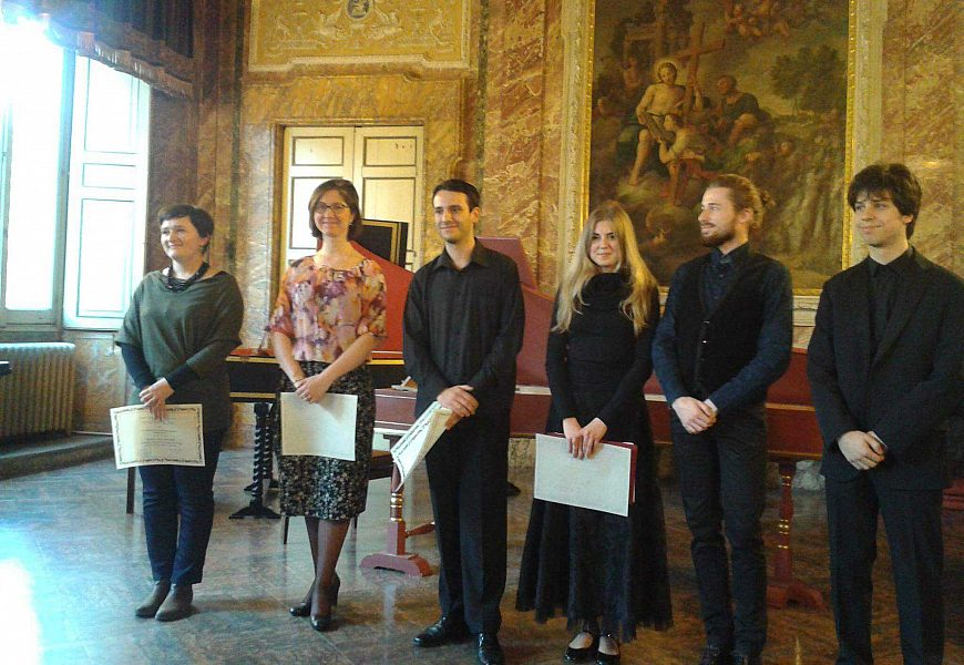 Premiazione Serena Agostini