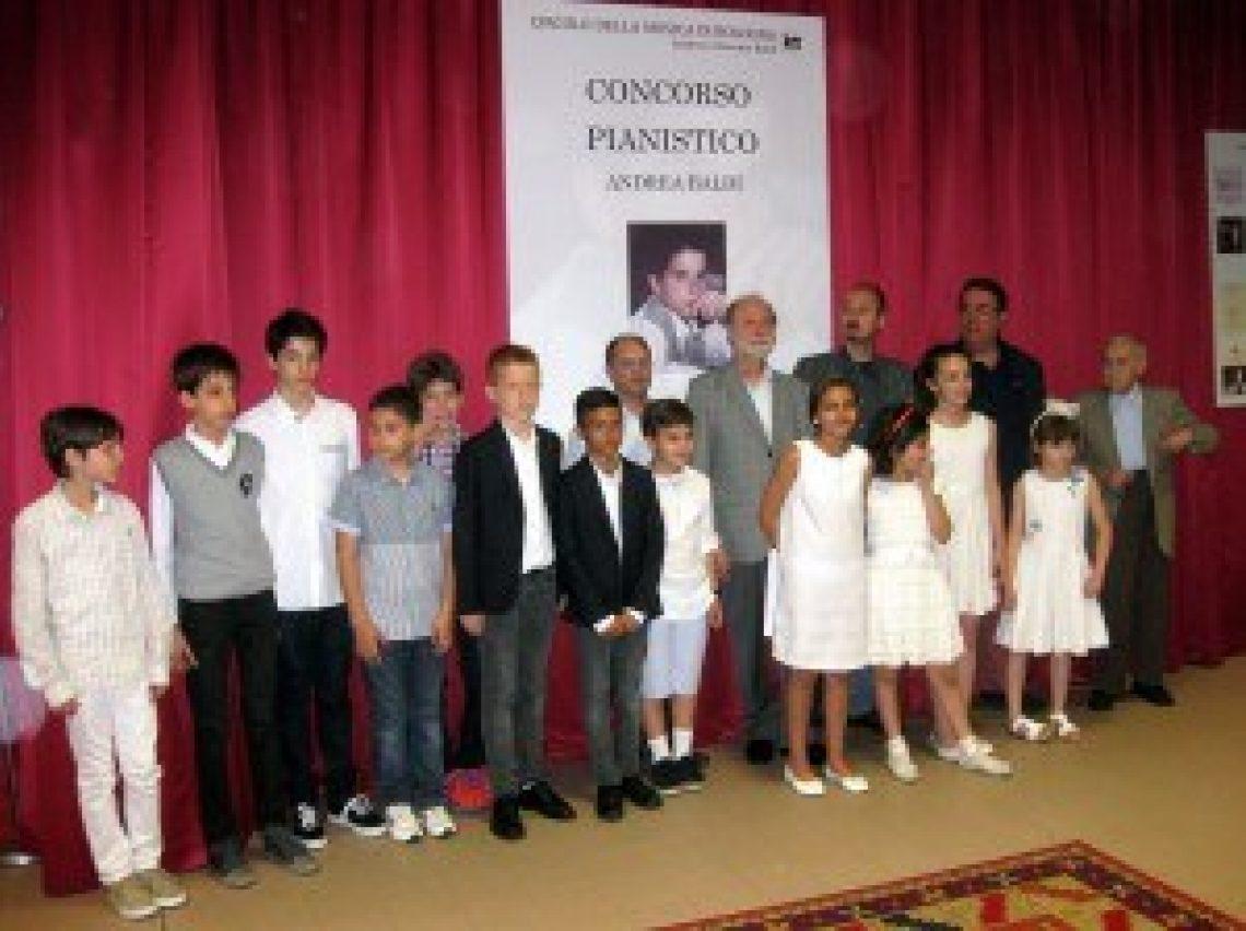 Concorso Pianistico Baldi Bologna